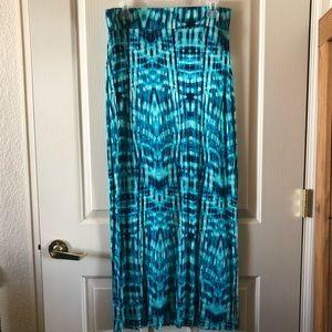 Blue a.n.a maxi skirt